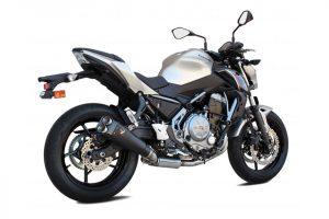 Edelstahl-Komplettanlage M9 für Z 650/650 Ninja, 17- - schwarz
