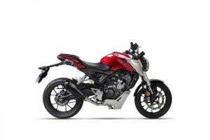 IXIL RC1 rostfritt helsystem ljuddämpare, Honda CB 125 R, 18-