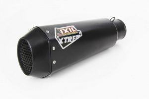 IXIL RC1 rostfri ljuddämpare, svart, Honda X-ADV 750, 17-