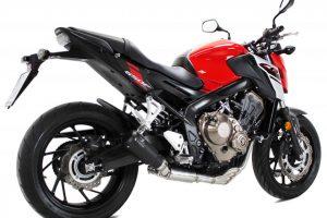 IXRACE MK2 rostfritt helsystem ljuddämpare, Honda CB 650 F/CBR 650 F, 14-