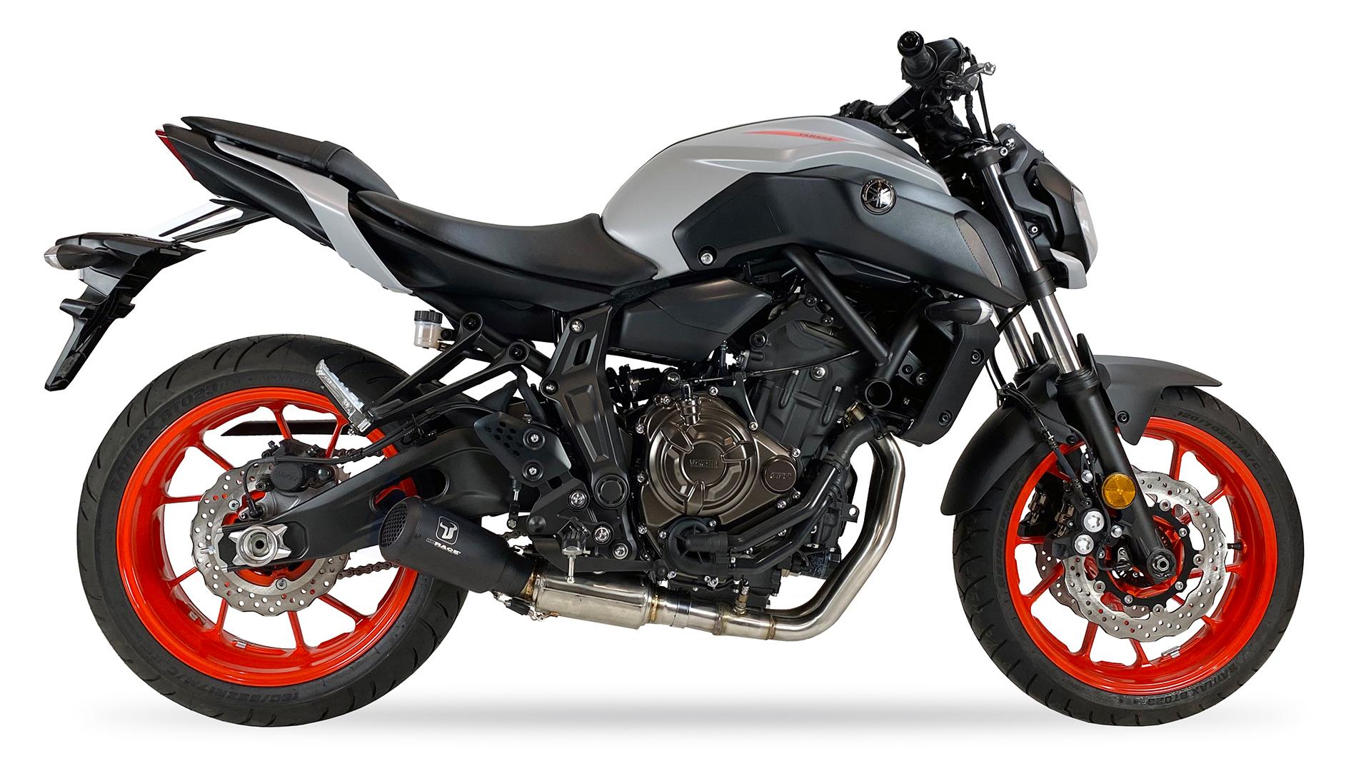 ixrace MK2 system kompletny ze stali nierdzewnej, Yamaha MT-07 14-20, TRACER 700 17-, XSR 700 16-