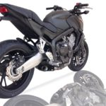 IXIL SX1 rostfritt helsystem ljuddämpare, Honda CB 650 F/CBR 650 F,14-