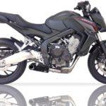 IXIL SX1 Komplett system rostfritt Honda CB 650 F/CBR 650 F,14-15, med katalysator, E-märkt