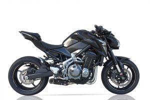 IXIL SX1 Edelstahl-Komplettanlage für Kawasaki Z 900, 17- (Euro4)