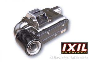 IXIL SX1 rostfritt helsystem ljuddämpare, Yamaha MT-09, XSR 900, 16-