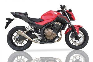 IXIL X55-Rostfri-Endcap CBR 500 R / CB 500 F, 16-, E-märkt