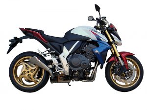 IXIL X55 Rostfri-Endcap borstad Honda CB 1000 R, 08-16, E-märkt