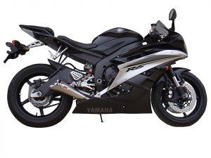 IXIL X55 Rostfri-Endcap borstad Yamaha YZF R 6, 06-, E-märkt