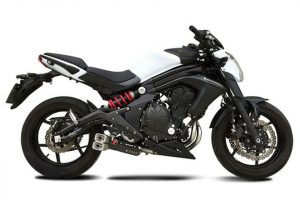 IXRACE Z8 Komplett system rostfritt till Kawasaki ER 6 N/F, 12-15, Versys 15-16