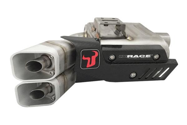IXRACE Z8 rostfritt helsystem ljuddämpare, Kawasaki Z 650, Ninja 650, 17-