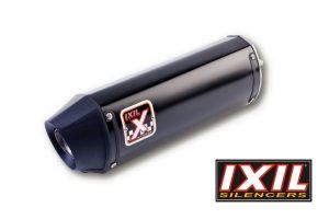 IXIL Rostfri ljuddämpare HEXOVAL XTREM svart YZF R 6, 06-, E-märkt, svart Endcap