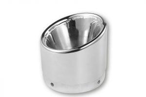 IXIL IRONHEAD-Endcap Slashed, krom, för ljuddämpare med D=88mm