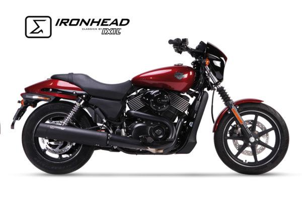 Tłumik ze stali nierdzewnej IRONHEAD Harley-Davidson Street 500/750, 14-16