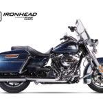 T?umik ze stali nierdzewnej IRONHEAD Harley-Davidson Touring Road King, 06-16