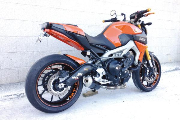 TAKKONI Komplettsystem till Yamaha MT-09 & XSR 900, 16- (Euro4)