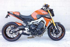 TAKKONI Komplettsystem till Yamaha MT-09
