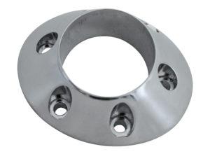 IXIL - CONICAL Endcap, ny Dbkillerversion, silver, rak utblås ,  6 Skruvar