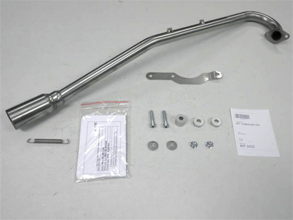 IXIL-Grenrör kompl. f. KYMCO MXU 250, 04-05