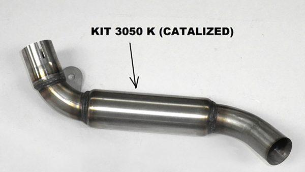 IXIL Adapterrohr mit Katalysator für KTM Duke 125