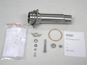 IXIL Adapterrohr für Z 1000, 07-09, rechte Seite - rechts