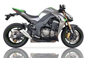 IXIL Hyperlow Edelstahl-Endtöpfe für Kawasaki Z 1000 Bj. 10-, Z 1000 SX Bj. 11-, (Euro3+4)
