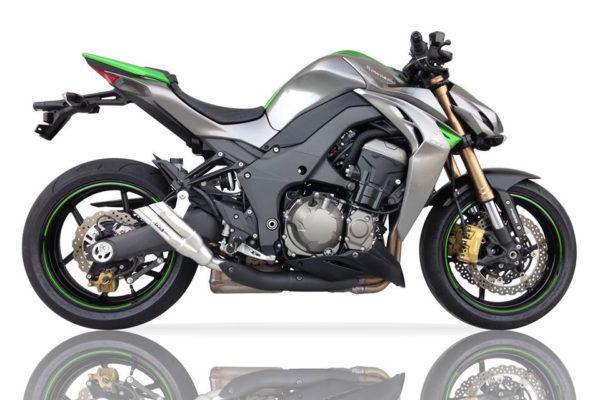 IXIL Hyperlow rostfri ljuddämpare, Kawasaki Z 1000 Bj. 10-, Z 1000 SX Bj. 11-