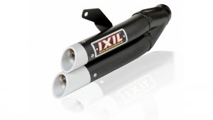 ixil Hyperlow zwarte XL-Kawasaki ZX 300 R Ninja, 13-, Dual-exit, XL-Kawasaki ZX 300 R, 13-, Dual-exit