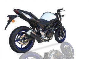 IXIL Hyperlow black XL rostfritt stål ljuddämpare Suzuki SV 650 16-