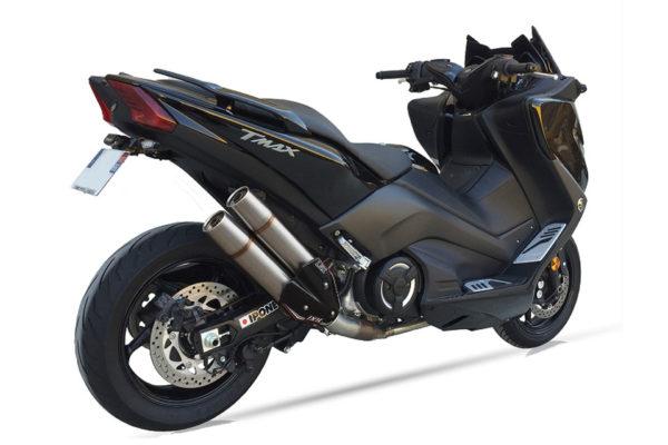 IXIL L5X-Hyperlow-rostfritt helsystem ljuddämpare, Yamaha T-Max DX/SX, 17-18